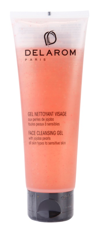 Delarom Cleaning and Removing gel de curatare faciala cu granule de jojoba