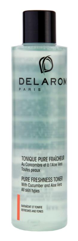 Delarom Cleaning and Removing čistiace osviežujúce tonikum s uhorkou a aloe vera