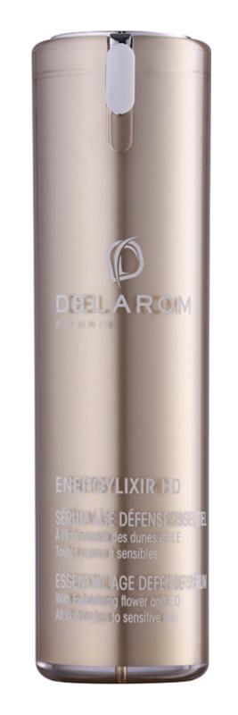 Delarom Energylixir HD schützendes Serum gegen das Altern mit Strohblume und ätherischen Ölen