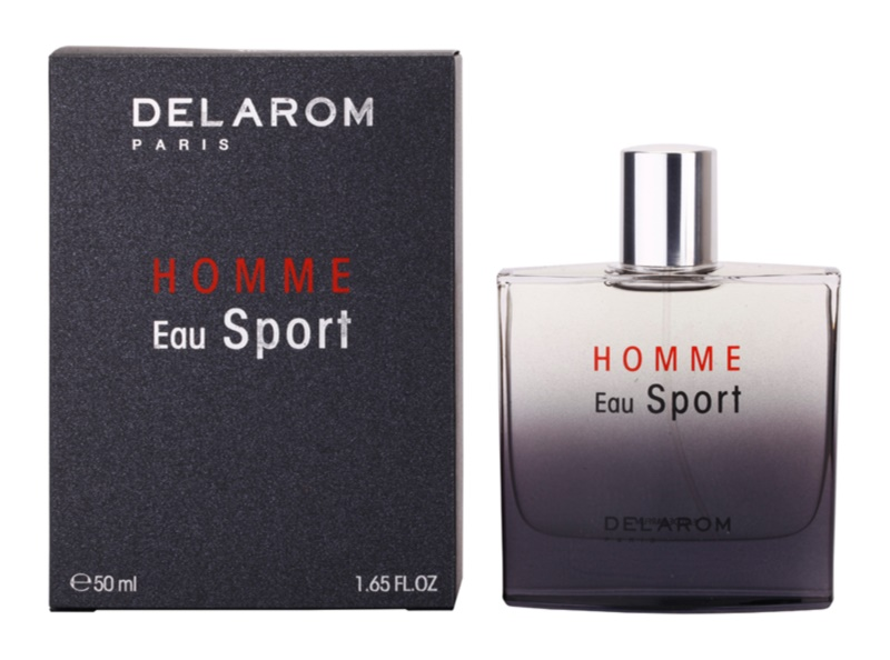Delarom Homme Eau Sport Eau de Parfum for Men 50 ml