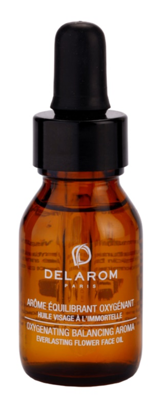 Delarom Revitalizing huile oxygénante visage à l'immortelle