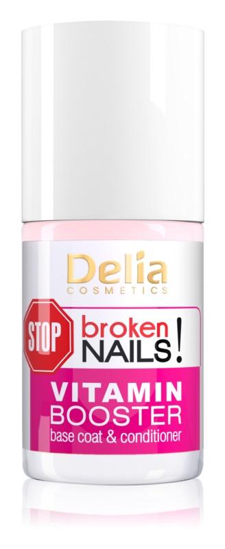 Delia Cosmetics STOP broken nails! мультивітамінний догляд для живлення ослаблених та пошкоджених нігтів
