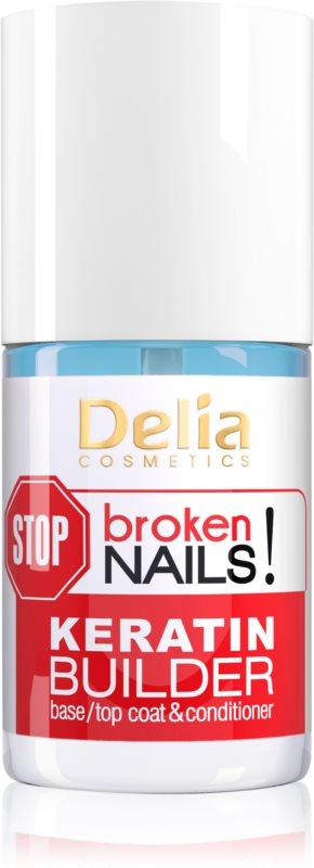 Delia Cosmetics STOP broken nails! keratinová péče pro výživu oslabených nehtů