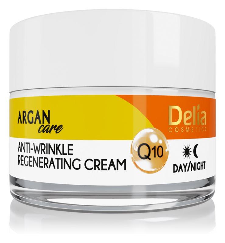 Delia Cosmetics Argan Care regeneracijska krema proti gubam s koencimom Q10