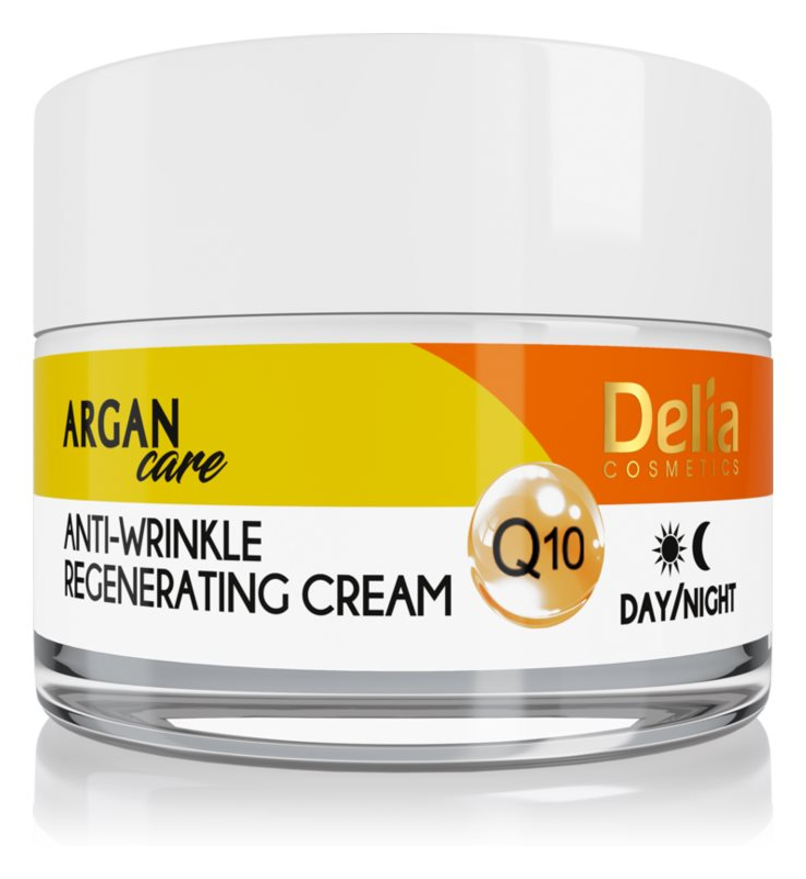 Delia Cosmetics Argan Care regenerační protivráskový krém s koenzymem Q10