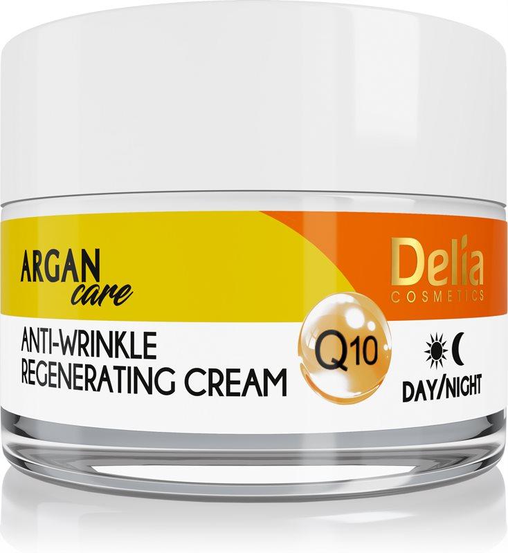 Delia Cosmetics Argan Care Regenerating Anti-Wrinkle Cream With Coenzyme Q10