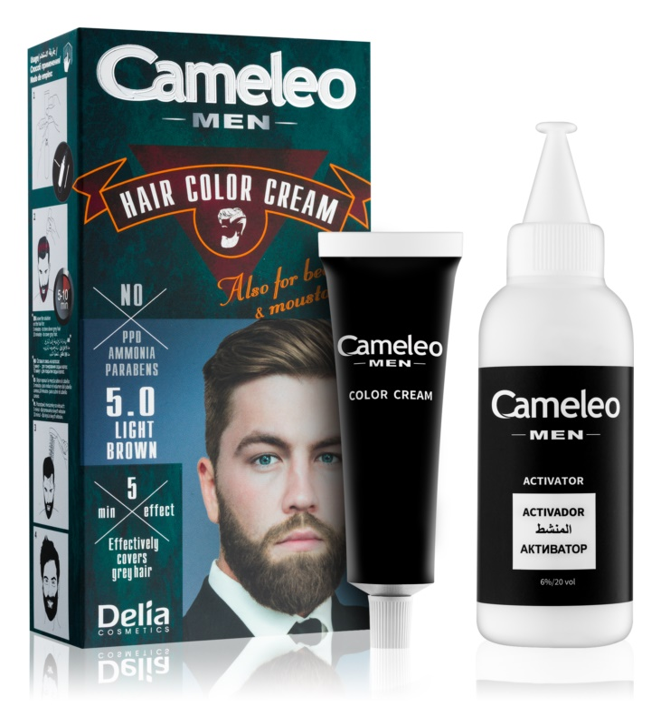 Delia Cosmetics Cameleo Men farba na vlasy