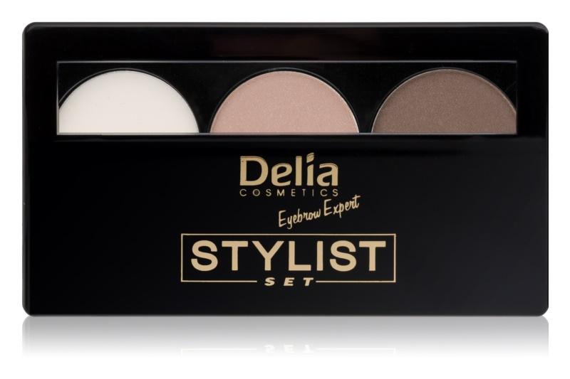 Delia Cosmetics Eyebrow Expert Компактний засіб для підводки бровей