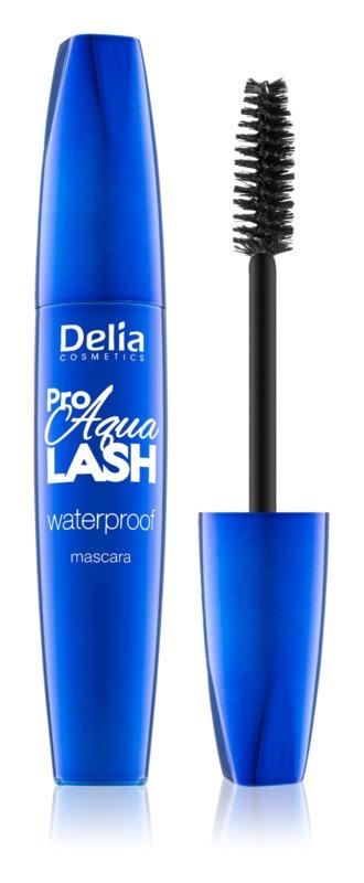 Delia Cosmetics Pro Aqua Lash vodoodporna maskara za privihanje in ločevanje trepalnic