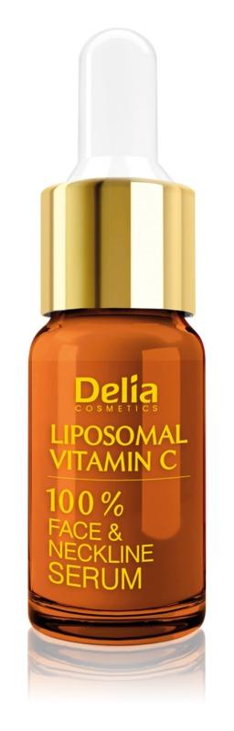 Delia Cosmetics Professional Face Care Vitamin C siero illuminante con vitamina C per viso, collo e décolleté