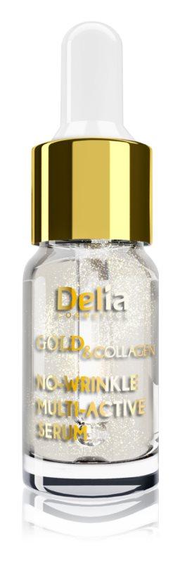 Delia Cosmetics Gold & Collagen Rich Care sérum anti-rides illuminateur