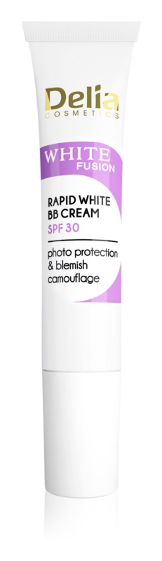 Delia Cosmetics White Fusion C+ rozjasňující BB krém proti pigmentovým skvrnám SPF30