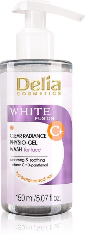 Delia Cosmetics White Fusion C+ gel nettoyant pour peaux hyperpigmentées