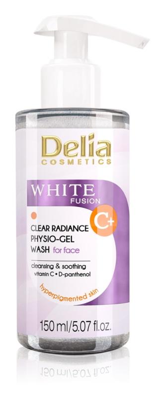Delia Cosmetics White Fusion C+ Reinigungsgel  Für hyperpigmentierte Haut