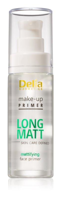 Delia Cosmetics Skin Care Defined Long Matt podlaga za mat videz