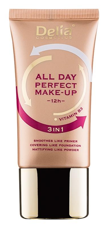 Delia Cosmetics All Day Perfect тональні засоби 3в1