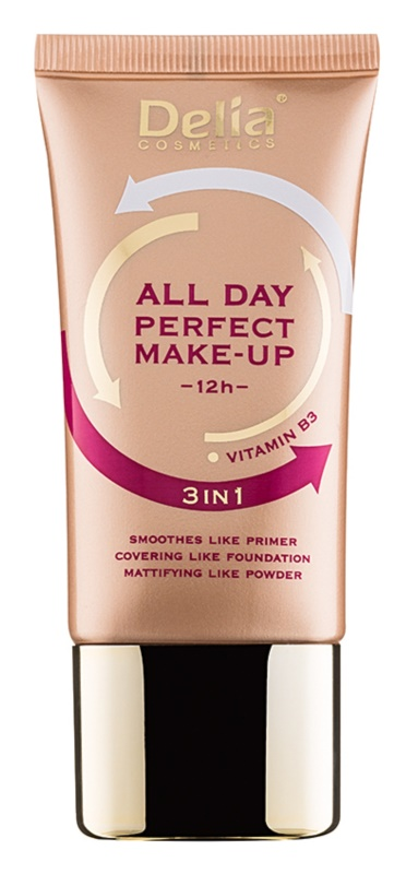 Delia Cosmetics All Day Perfect tональні засоби 3в1