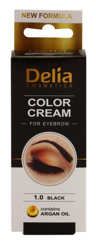 Delia Cosmetics Argan Oil фарба для брів