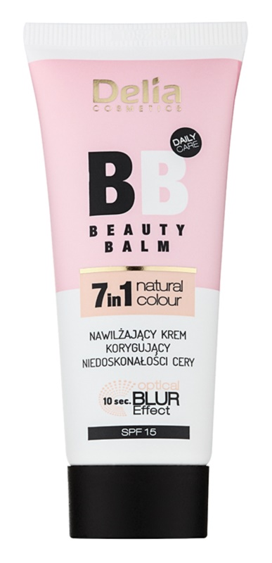 Delia Cosmetics Optical Blur Effect Beauty Balm зволожуючий ВВ крем від недоліків шкіри SPF15