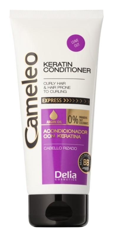 Delia Cosmetics Cameleo BB keratínový kondicionér pre vlnité vlasy