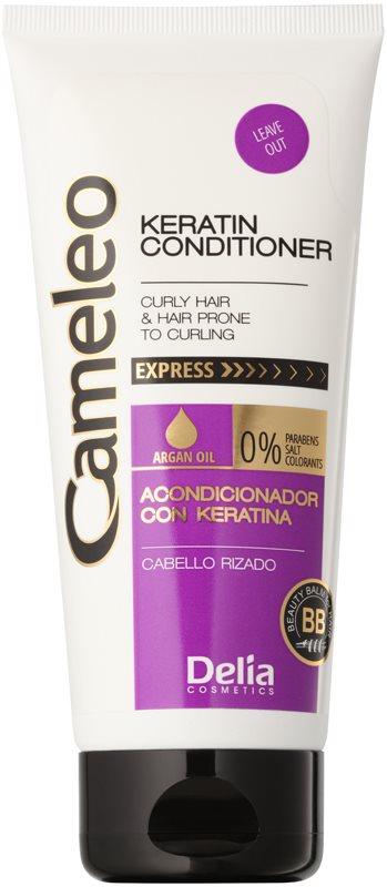 Delia Cosmetics Cameleo BB keratinový kondicionér pro vlnité vlasy