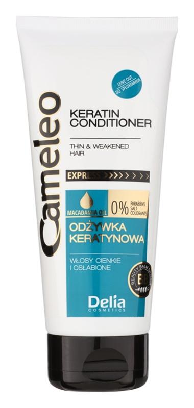Delia Cosmetics Cameleo BB acondicionador de queratina para cabello fino y lacio