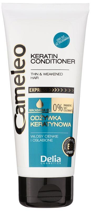 Delia Cosmetics Cameleo BB keratinski balzam za fine in tanke lase