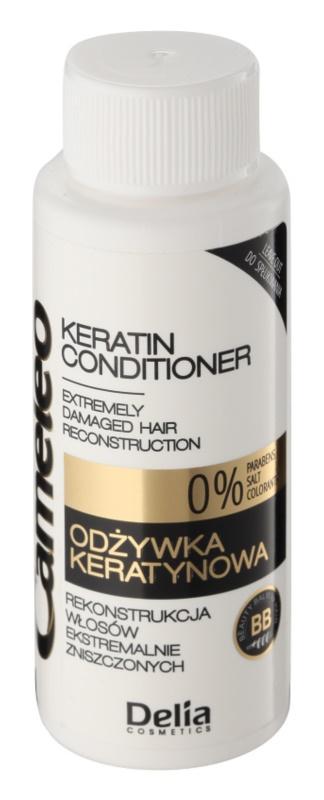 Delia Cosmetics Cameleo BB кератиновий кондиціонер для пошкодженого волосся