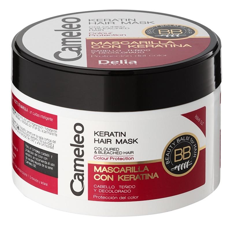 Delia Cosmetics Cameleo BB keratínova maska pre farbené a melírované vlasy