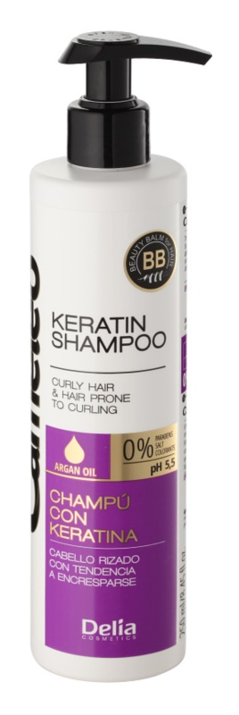 Delia Cosmetics Cameleo BB Shampoo  mit Keratin für welliges Haar