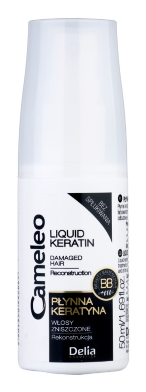 Delia Cosmetics Cameleo BB tekutý keratín v spreji pre poškodené vlasy