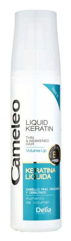 Delia Cosmetics Cameleo BB keratina líquida em spray para cabelo fino e sem volume