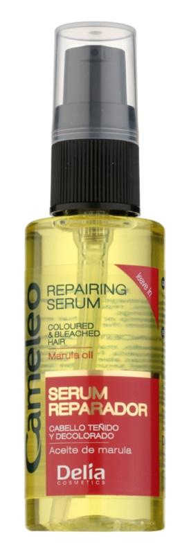 Delia Cosmetics Cameleo BB відновлююча сироватка для фарбованого та меліруваного волосся