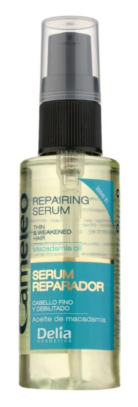 Delia Cosmetics Cameleo BB відновлююча сироватка для тонкого та ослабленого волосся