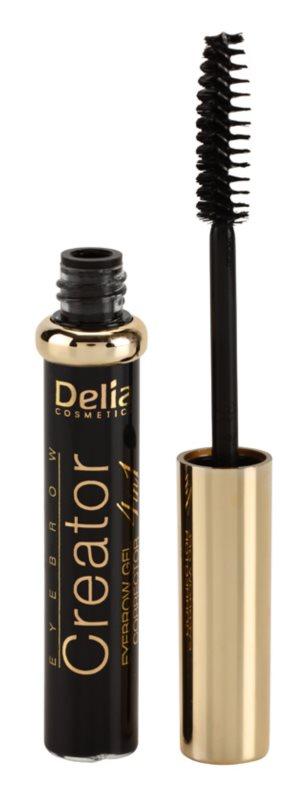 Delia Cosmetics Creator gél na obočie 4 v 1