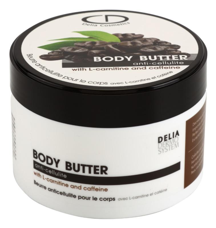 Delia Cosmetics Dermo System burro corpo anticellulite