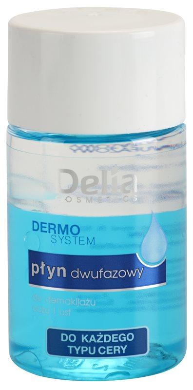Delia Cosmetics Dermo System dvojfázový odličovač na očné okolie a pery