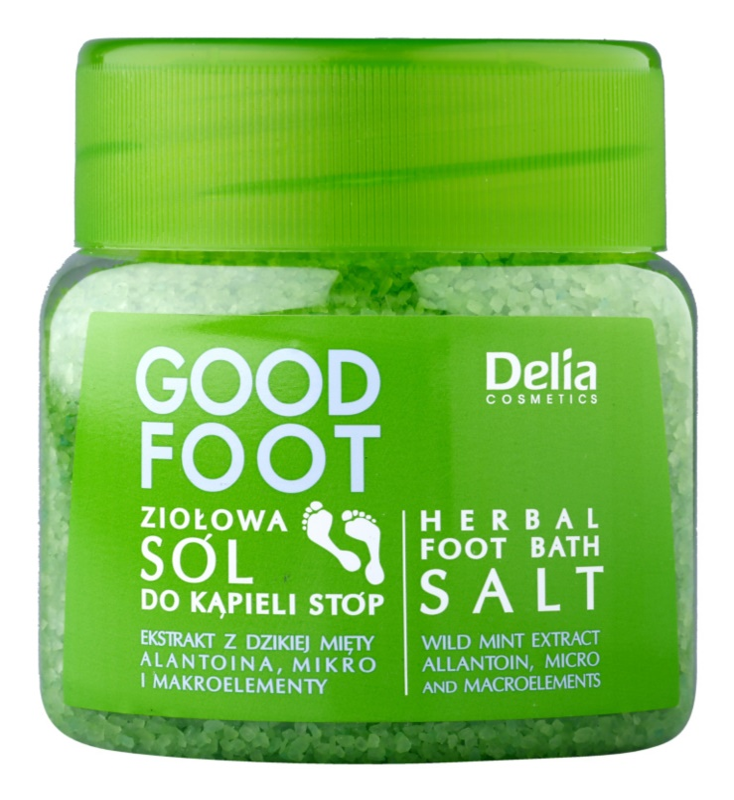 Delia Cosmetics Good Foot Herbal Foot Bath Salt
