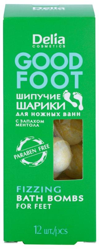 Delia Cosmetics Good Foot Brausekugeln zum Baden für Füssen