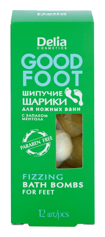 Delia Cosmetics Good Foot šumivé koule do koupele na nohy