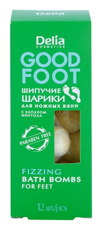 Delia Cosmetics Good Foot szénsavas fürdő golyók lábakra