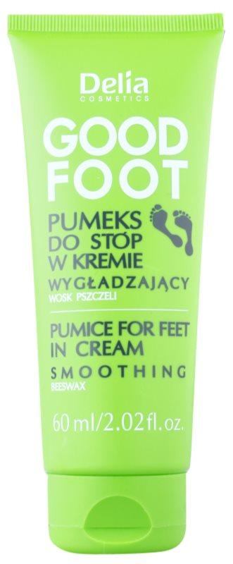 Delia Cosmetics Good Foot Bimsstein-Creme für die Füße