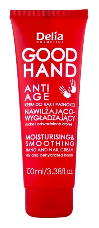 Delia Cosmetics Good Hand Anti-Age feuchtikeitsspendende und weichmachende Creme für Hände und Fingernägel