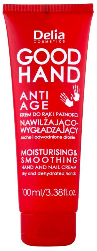 Delia Cosmetics Good Hand Anti-Age hidratáló és puhító krém kézre és körmökre