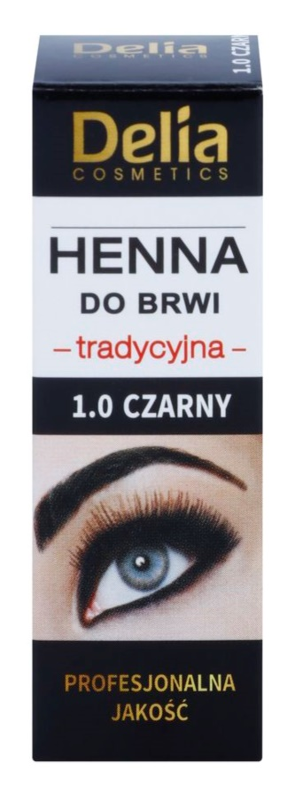 Delia Cosmetics Henna barva za obrvi