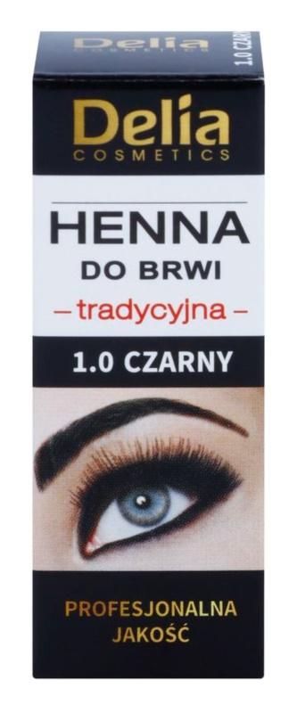 Delia Cosmetics Henna farba na obočie