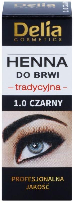 Delia Cosmetics Henna фарба для брів