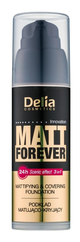 Delia Cosmetics Matt Forever lehký make-up