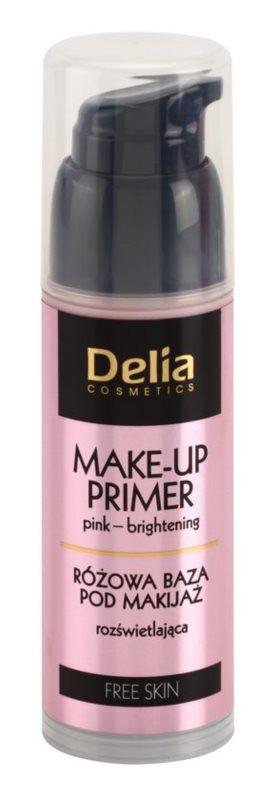 Delia Cosmetics Free Skin base de teint illuminatrice