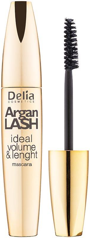 Delia Cosmetics Argan Lash mascara cils volumisés, allongés et séparés